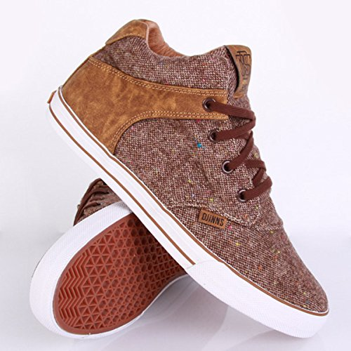 Djinns Chunk Spotted Tweed`14 Brown Braun