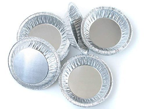 4 1/4 '' Disposable Aluminum Tart Pan by D & W (A96) (2000)