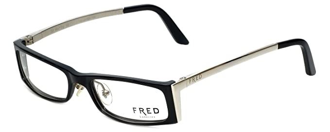 37ae6e89d55 Image Unavailable. Image not available for. Color  Fred Lunettes Designer  Eyeglasses St. Moritz-C3-003 ...