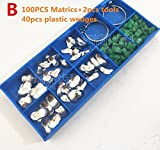 100Pcs/box Dental Sectional Contoured Matrices Matrix Ring Delta Wedges
