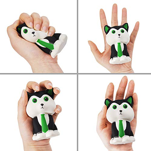 JOYIN 6 Pack Jumbo Size Squishy Animal Toy Slow Rising Stress Relief Super Soft Squeeze Kawaii Anima - http://coolthings.us