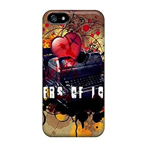 Durable Protector Cases Covers With Love Letter Hot Design For Iphone 5/5s