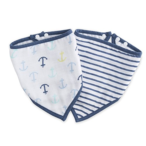 Ideal baby by the makers of aden + anais bandana bib 2 pack, set sail