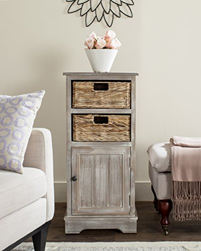 Cabinet Modern American China (Safavieh American Homes Collection Connery Winter Melody Cabinet)