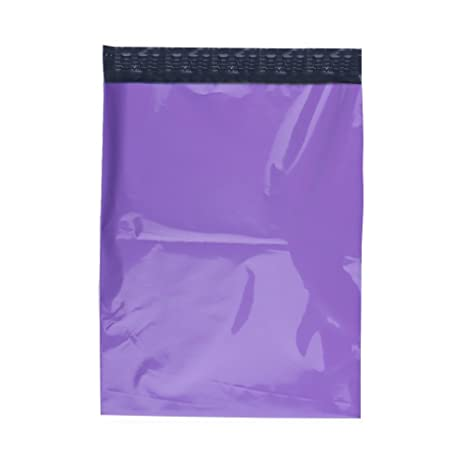 100 10x13 Purple Poly Mailers Shipping Envelopes Bags