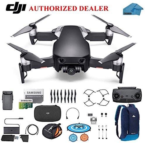 DJI Mavic Air Drone - Quadcopter with 32gb SD Card - 4K Professional Camera Gimbal - Bundle - Kit -...