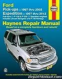 Nos-H36059 Haynes Ford Pickup 1997-2003 Expedition Lincoln Navigator 1997-2012 Repair Manual