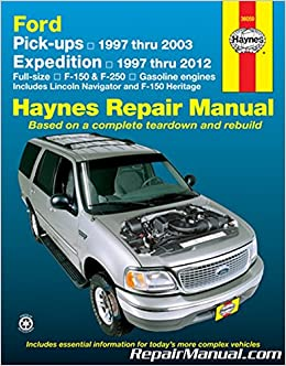 Nos-H36059 Haynes Ford Pickup 1997-2003 Expedition Lincoln Navigator 1997-2012 Repair Manual