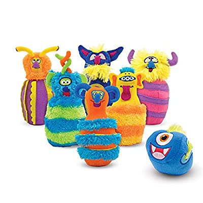 Melissa & Doug Monster Bowling Game (8 Pieces, Mesh Storage Bag, Great Gift for Girls and Boys - Best for 2, 3, 4, 5 and 6 Year Olds): Toy: Toys & Games