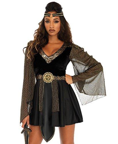 Glamazon Costume (Adult size Glamazon Warrior Costume - Amazon Women Power - Large Size 12-14)