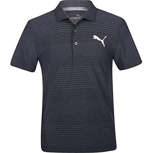 Puma Golf Teen-Boys 2018 Pounce Aston Polo, Peacoat, (Puma Golf Polo Shirt)