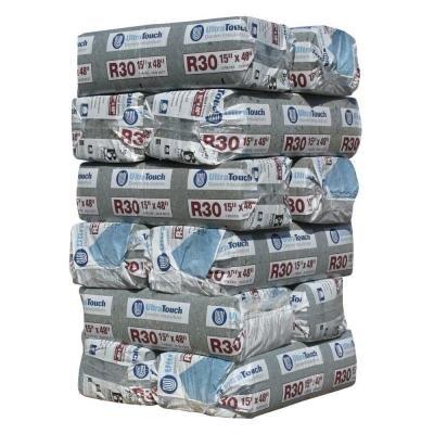 24.25 in. x 48 in. R30 Denim Insulation (8-Bags)