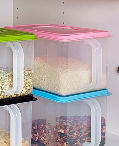 Collection Handled - The Lakeside Collection Bulk Storage Handled Bins - Pink
