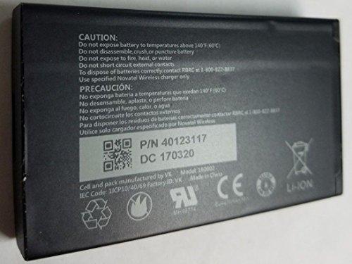 - Original Standard Battery for Novatel Jetpack MiFi 7730L Mobile Hotspot - P/N: 40123117 4400 mAh