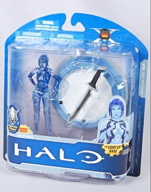 Mcfarlane Halo Anniversary Series 1 - Cortana action figure