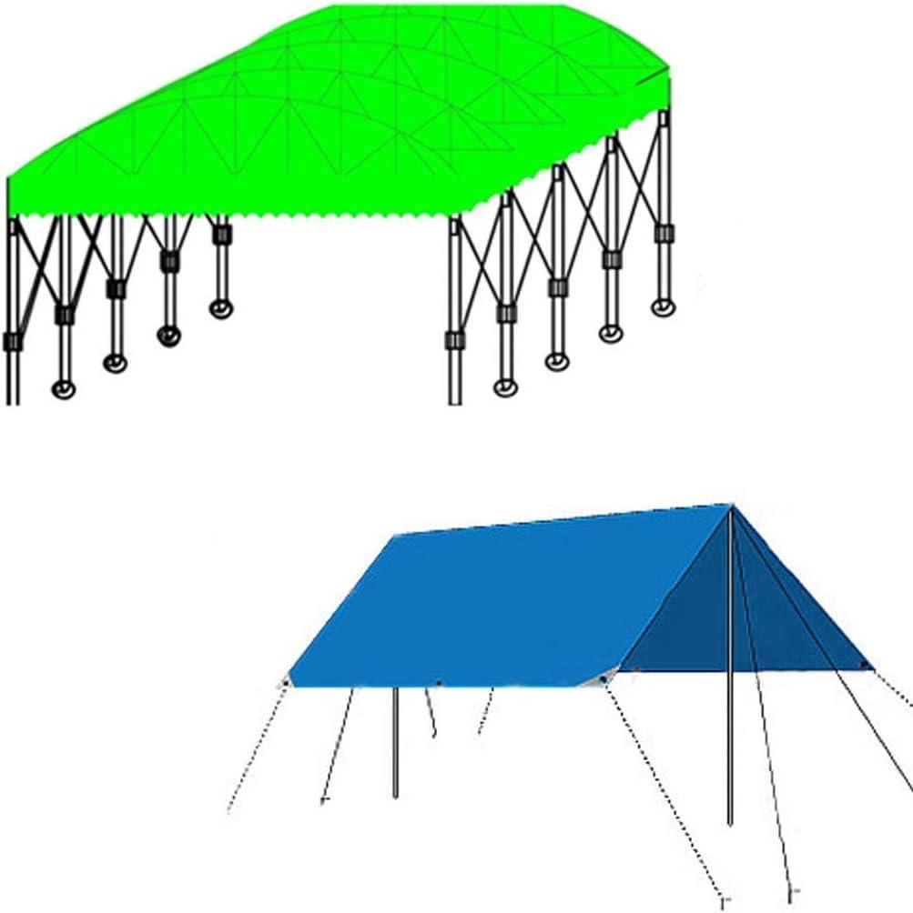 MWPO Lona Impermeable con Ojales de Metal para constructores, campistas, Pintores, Agricultores, Barcos, Motocicletas, fardos de heno, 180 g / m2 Azul - 100% Impermeable y Protegido contra Rayos: Amazon.es: Hogar