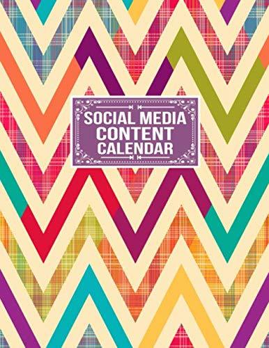 51%2BVk%2BCsTlL - Social Media Content Calendar: Social Media Business Planner Posts Planner Advert Planner and Social Media Analysis