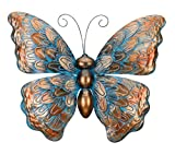 Regal Art & Gift Patina Butterfly Wall Decor (Lawn & Patio)