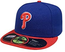 MLB Philadelphia Phillies Alternate AC On Field 59Fifty Fitted Cap-800