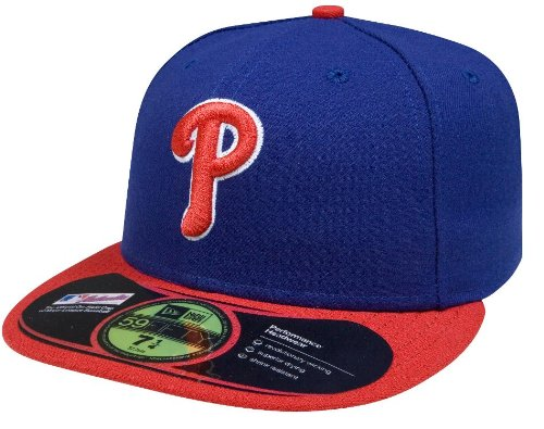 MLB Philadelphia Phillies Alternate AC On Field 59Fifty Fitted Cap-712