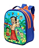 Adventurer Kids School bag, Multi Colour with 3D Chota Bheem Characters Backpack (Age- 2- 6 Years) (VA-0026)