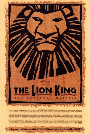 The Lion King The Broadway Musical Poster    - Poster Print,