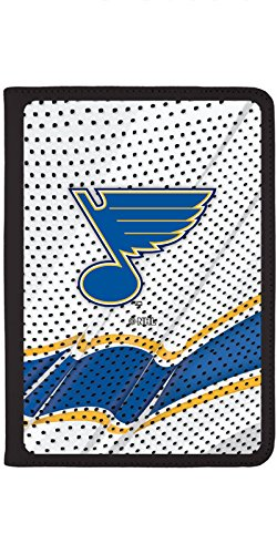 St Louis Blues - Away Jersey Design on Black iPad Air 2 Swivel Stand Case