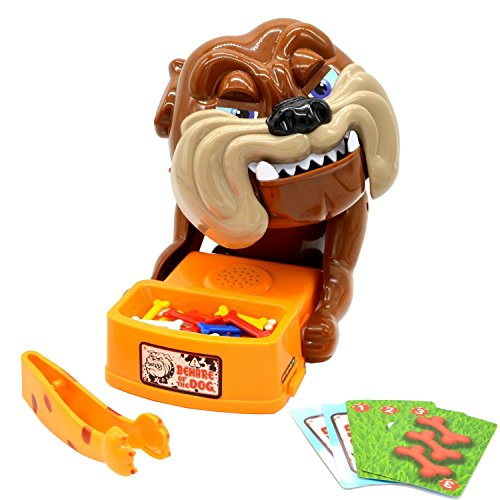 (Beyoung Funny Parent Child Games Beware of The Dog Don't Wake The Dog Toys, Dog Board Games, Funny Electronic Pet Dog Toys, Bad Dog Gnaw)
