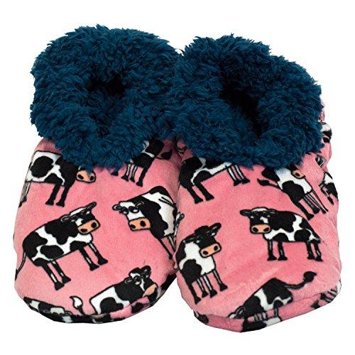 1d51fcc704de LazyOne Women s Fuzzy Feet Slipper Socks (Large X-Large