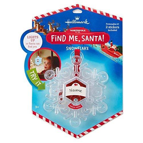 Hallmark Find Me Santa Snowflake