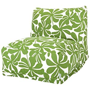 Majestic Home Goods Sage Plantation Bean Bag Chair Lounger