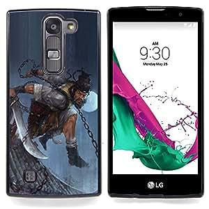 - ASIAN WARRIOR MAN/ Duro Snap en el tel????fono celular de la cubierta - Cao - For LG Volt 2 / LG G4 Mini (G4c)