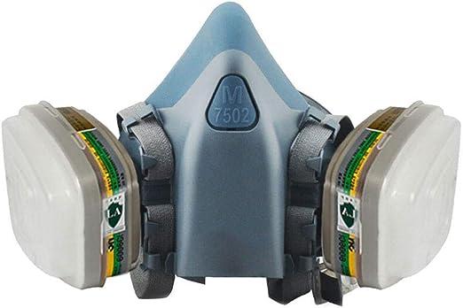 Spray Paint Mask >> Amazon Com Huiqi Gas Mask Gas Mask Silicone Anti