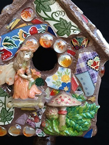 - Fairy Birdhouse, Dragon, Fearie,Mosaic