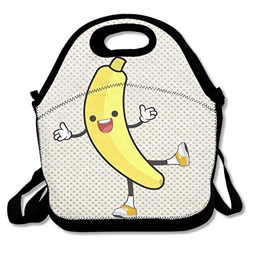 Oery Banana Cooler Lunch Bag Outdoor Picnic Bag
