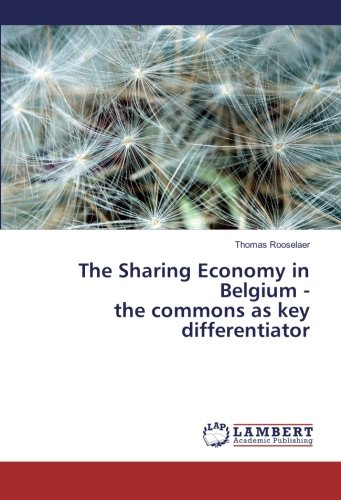 The Sharing Economy in Belgium - the commons as key...