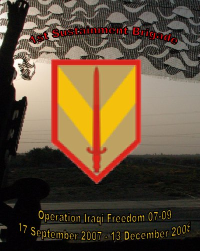 1st Sustainment Brigade Yearbook: Operation Iraqi Freedom 07-09