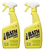 $19.99Jelmar Pb-Bk-2000 Clr Fresh Scent Bath And Kitchen Cleaner, 26 Oz Trigger Spray Bottle 2pack