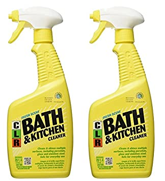 Jelmar Pb Bk 2000 Clr Fresh Scent Bath And Kitchen Cleaner 26 Oz Trigger Spray Bottle 2pack