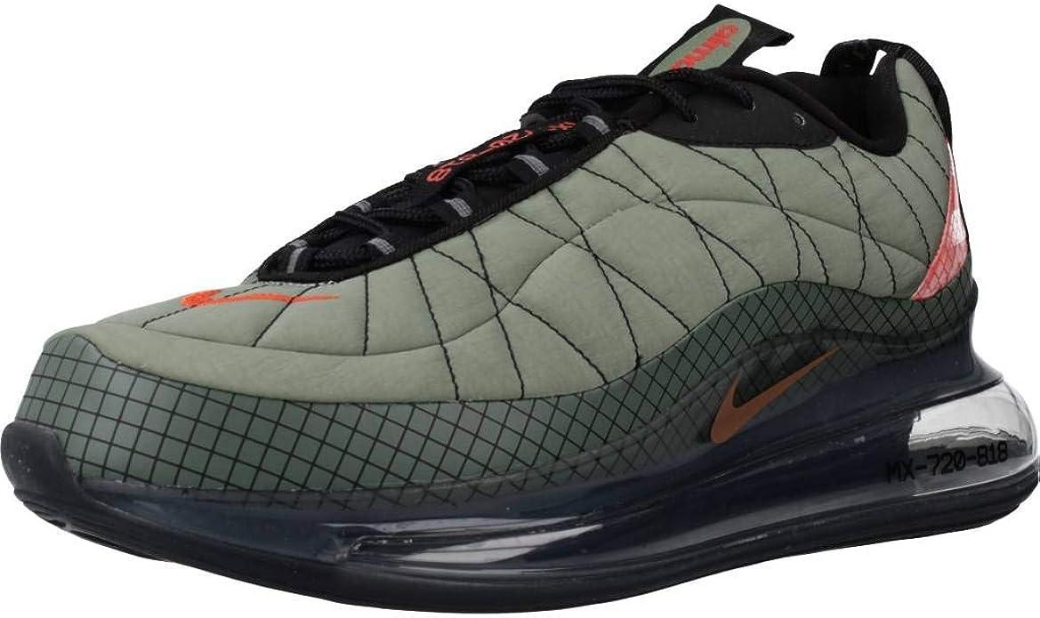camisa Comienzo Envolver  Amazon.com | Nike Air Max-720-818 Mens Jade Stone/Juniper Fog/Black/Team  Orange Running Shoes | Athletic