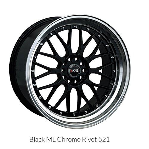 XXR 521 Black (17x7) +38 (4x100/4x4.5) ()