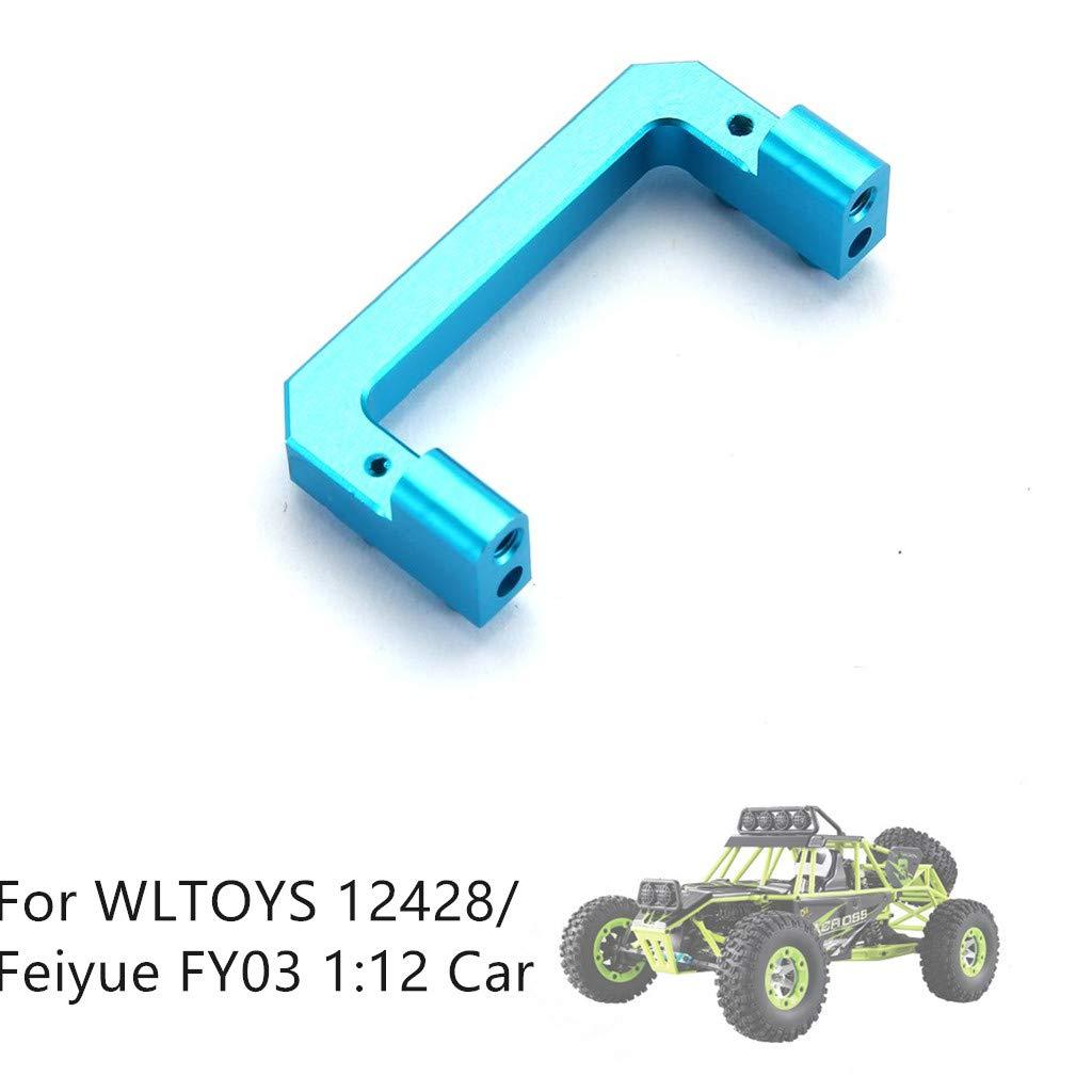 Ktyssp Upgrade Metal Servo Fixed Mount Part for WLTOYS 12428//Feiyue FY03 1:12 Car