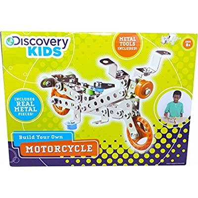 Discovery Kids Build Your Own Motorcycle Kit: Toys & Games