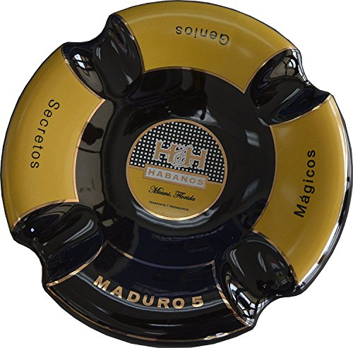 Extravaganza Collection - H&H - Black Maduro Cigar Ashtray by H&H