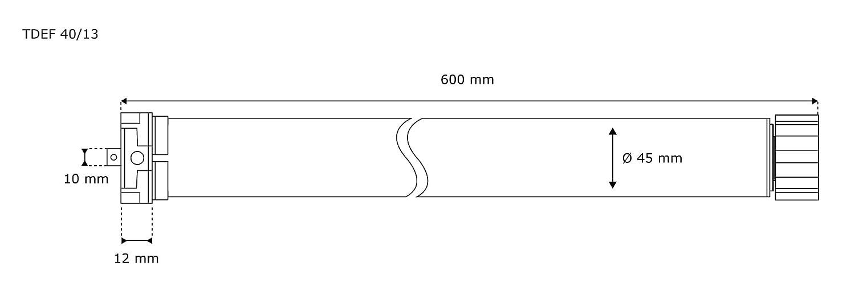 pour volet roulant avec t/él/écommande portable Timer minuteur JAROLIFT 5x Moteur tubulaire radio TDEF 10Nm//14tr 4-canaux TDRCT 04