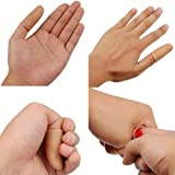 LUQUAN 2 X Thumb Tip & Cloth Vanish Vanishing Magic Trick Play Toy Halloween Party Prank Prop