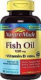 Nature Made Fish Oil 1,200 mg + Vit D 1,000 IU Softgels, 90 ct Review