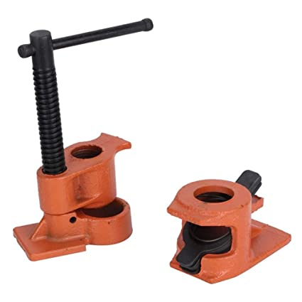 1 2 Inch Heavy Duty Pipe Clamp Jaws Vise Fixture Set