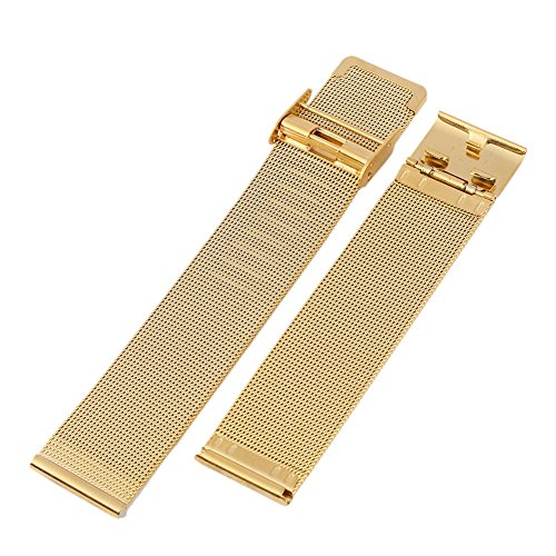 Wingbind Ultra Thin Mesh Stainless Steel Watch Replacement Band Watch Strap 12mm 14mm 16mm 18mm 20mm 22mm 24mm