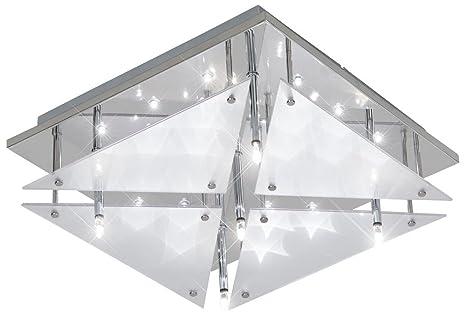 Deckenleuchte Deckenlampe LED Effekt Sterne Wohnzimmer Esto Star Sky 9749186 5